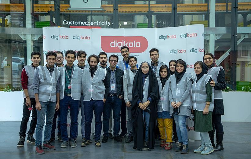 گزارش بازدید دانشجویان دانشگاه شهیدبهشتی و علم و صنعت از مرکز پردازش دیجی کالا