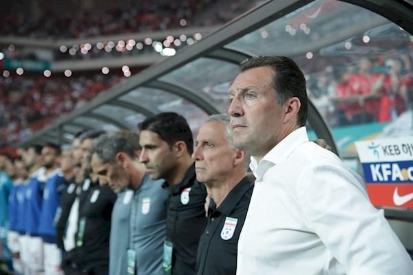 ویلموتس: تیم ملی به بازی های تهاجمی ادامه می دهد