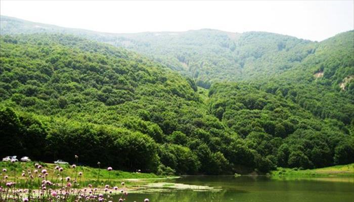 دریاچه ویستان بره سر رودبار