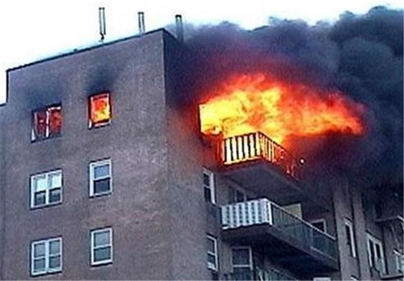 انفجار یک ساختمان مسکونی در شهرآرا